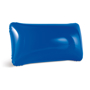 Inflatable pillow in blue