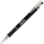 Intec Pen in black and silver with 1 colour print