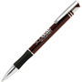Intec Pen in burgundy and silver with 1 colour print