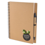 a5 recycled wiro notepad in natural