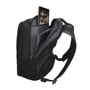"""InTransit 15.6"""" Laptop And Tablet Backpack showing back compartment"""