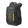 "Jaunt 15.6"" Laptop Backpack in black with 1 colour logo"