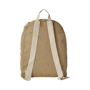 Jute rucksack with natural cotton straps