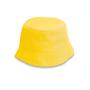 Kids bucket hat in yellow