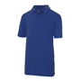 Kids Cool Polo in blue with collar and 2 buttons