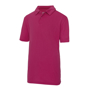 Kids Cool Polo in pink with collar and 2 buttons