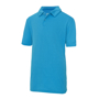 Kids Cool Polo in light blue with collar and 2 buttons
