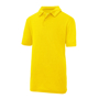 Kids Cool Polo in yellow with collar and 2 buttons
