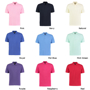 Kustom Kit Klassic Short Sleeve polo with collar and 3 buttons