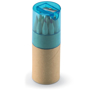 Lambut coloured pencil tube with blue lid