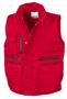 Lance Bodywarmer in red