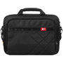 black laptop and tablet case front view