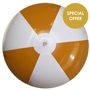Large Beach Ball in orange and white