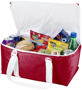 Large red cooler bags