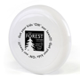 Low Cost Frisbee in white with 1 colour print