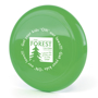 Low Cost Frisbee in green with 1 colour print