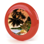 Low Cost Frisbee in red with digital print