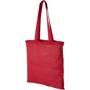 Red shopper bag
