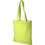 Lime green shopping shoulder bag