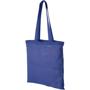 Blue shopper bag