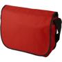Red and Black shoulder document bag