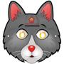 paper cartoon cat mask