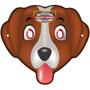 paper cartoon dog mask