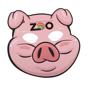 paper cartoon pig mask