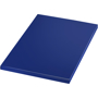 A5 match notebook in blue with matching coloured page edges