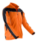 Men's Bikewear Long Sleeved Top in orange with black detail and reflective piping
