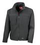 Men's Classic Softshell Jacket in black