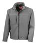 Men's Classic Softshell Jacket in grey