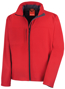 Men's Classic Softshell Jacket in red