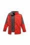Men's Defender 3-in-1 Jacket in red with grey details