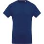 Men's Organic Cotton T-shirt in blue