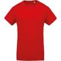 Men's Organic Cotton T-shirt in red