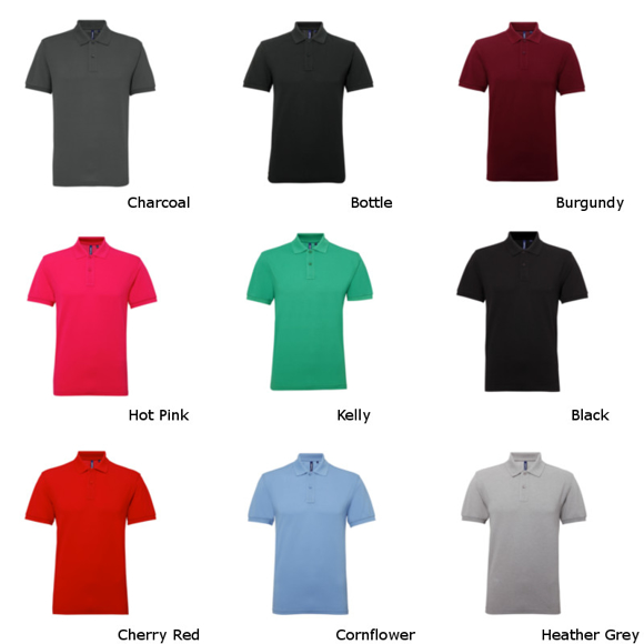 Men's Poly/Cotton Blend Polo