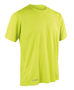 Men's Quick-Dry Short Sleeved in lime green