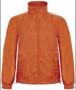 Men's Windbreaker in orange