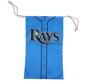 blue microfibre sunglasses pouch