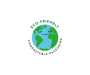 Ecp-friendly and compostable packaging logo