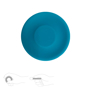 Mini Long Distance Frisbee Silicone in blue