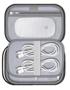 Internal zip up mesh  pockets of tech pouch