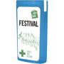 MiniKit Festival Setin blue with 2 colour print
