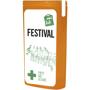 MiniKit Festival Set in orange with 2 colour print