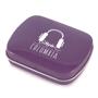 Purple mint tin