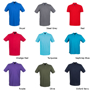 Modern Fit Short Sleeve Polo Shirt with collar and 2 buttons