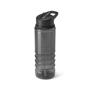 Black Transparent Bottle With Black Trim And Sip
