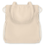 Natural cream coloured drawstring bag
