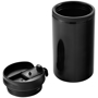 Mojave Insulating Tumbler in black with lid off
